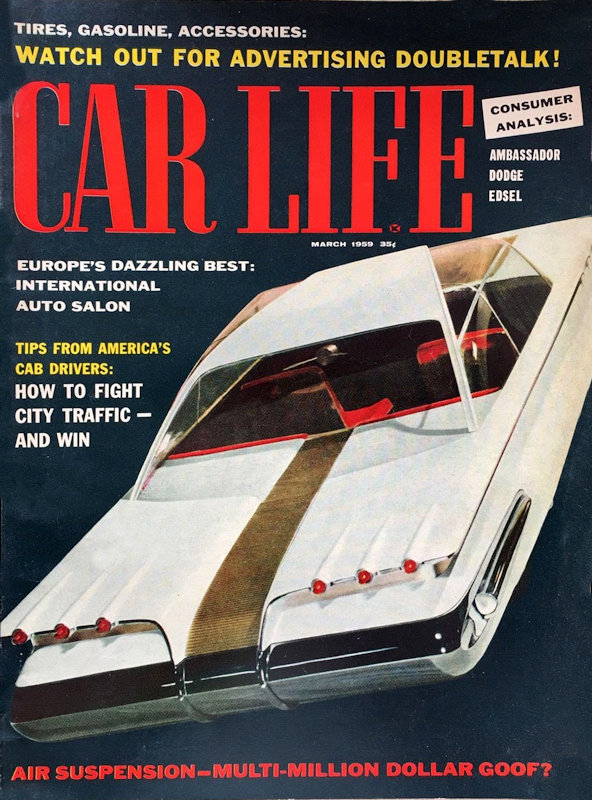 You choose the Issue The Motor Magazine Jan-Mar 1959
