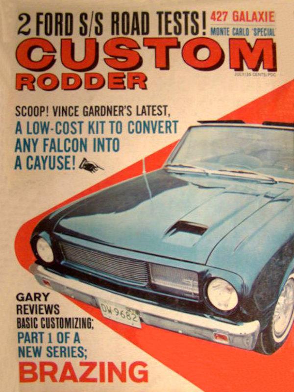 Custom Rodder Magazine