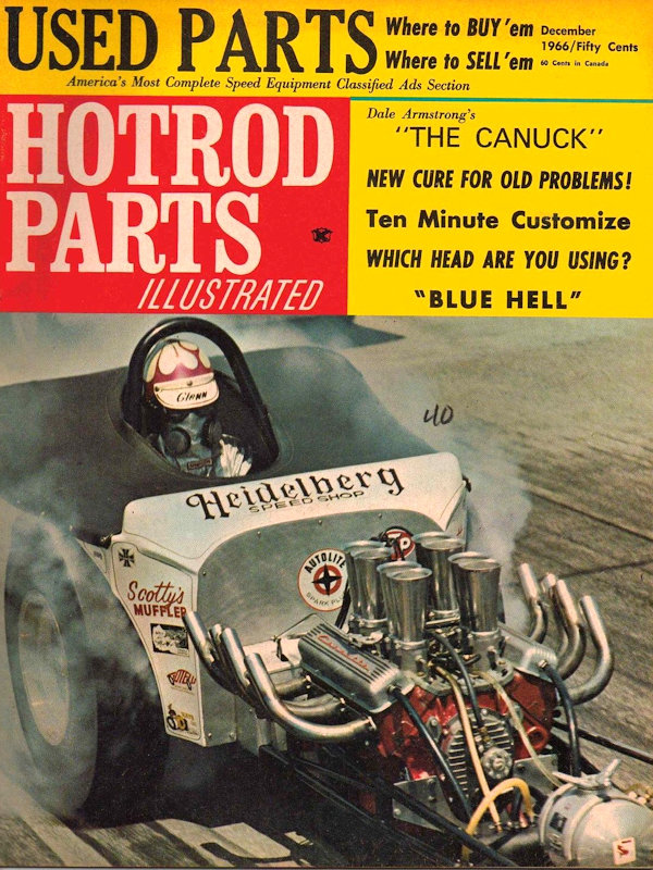 Hot Rod and Drag Parts Illustrated Magazine