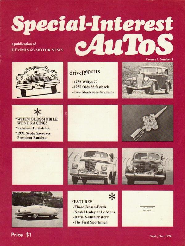 Special Interest Autos Magazine