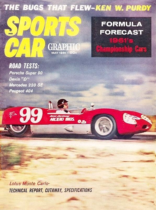 Sports Car Graphic Magazine