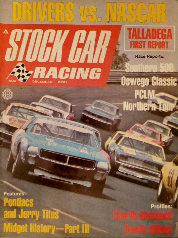 NASCAR Stock Car Racing Magazine with 95 pages of Text /& Pictures September 1971 Cavalcade of Auto Racing Magazine Action Monthly